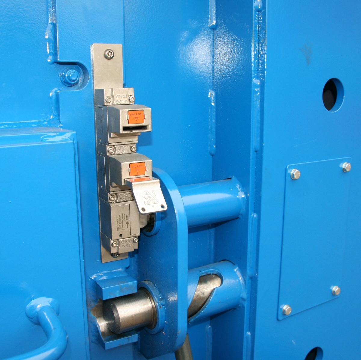6 x Drink Bottle Lock Protectors Blue Combination Protect Spiking Kwik Top